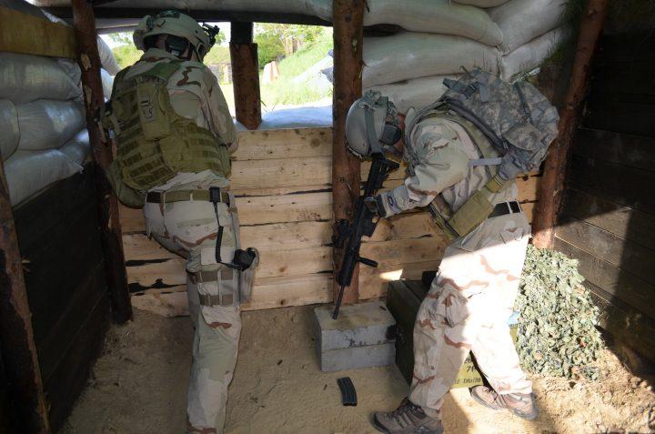 Zawody Turniej Trzech Broni - MIlitary Area / STS
